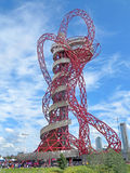 ArcelorMittal Orbit London Olympic Park Royalty Free Stock Images