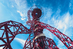 ArcelorMittal Orbit in London Royalty Free Stock Photos