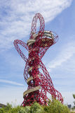 ArcelorMittal Orbit. London, UK - July 27, 2013: The ArcelorMittal Orbit at the Queen Elizabeth Olympic Park in Stratford, London. This structure is 114.5 metres Stock Photography