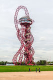ArcelorMittal Orbit observation tower. Olympic Park, Stratford, London, England, United Kingdom Stock Photo