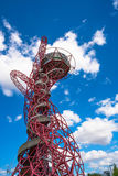 ArcelorMittal Orbit sculpture in the Olympic Park, London, UK Royalty Free Stock Photos