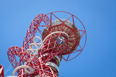 The ArcelorMittal Orbit sculpture. Stock Images