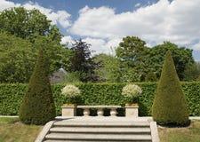 arcen城堡庭院设计 库存照片