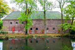 Arcen Castle. Is in the Arcen village in the Dutch province of Limburg Royalty Free Stock Photography
