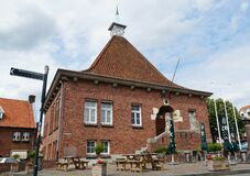 Free Arcen Town Hall Stock Photography - 189695642