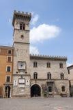Arcevia (3月,意大利) 免版税库存照片