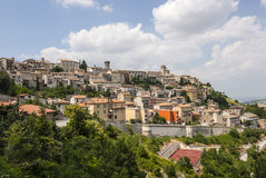 Arcevia (Marches, Italy) royalty free stock photo
