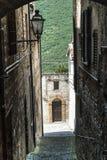 Arcevia (Marsen, Italië) Stock Foto's