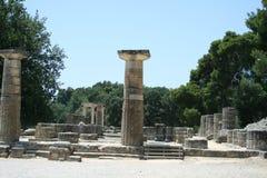 Archäologie in der Olympia Lizenzfreie Stockfotografie