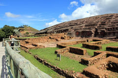 Archäologieruinen EL-Fuerte, Bolivien Lizenzfreie Stockfotografie