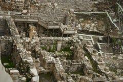 Archäologische Aushöhlungen von altem Jerusalem Lizenzfreie Stockfotos