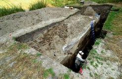 Archäologische Fundstätte Lizenzfreies Stockfoto