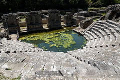 Archäologische Fundstätte in Albanien Lizenzfreie Stockfotos