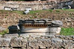 Archäologische Fundstätte der alten Olympia in Griechenland Lizenzfreie Stockfotos