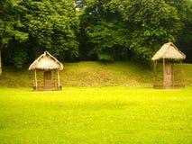 Archäologische Fundstätte des Mayas Quirigua - Guatemala Stockfoto