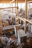 Archäologische Fundstätte Gobekli Tepe Lizenzfreie Stockfotografie