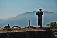Archäologische Fundstätte Pompejis Lizenzfreie Stockfotografie