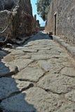 Archäologische Fundstätte Pompejis Stockfotos
