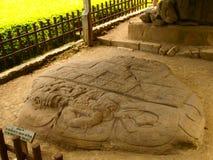 Archäologische Fundstätte Quirigua des Mayas Stockbilder