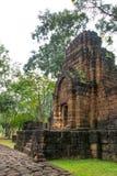 Archäologische Fundstätte, Schloss von Thailand Stockfotografie