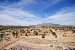 Archäologische Fundstätte Teotihuacan, Mexiko Lizenzfreie Stockbilder