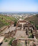 Archäologische Fundstätte und buddhistisches Kloster Pakistan Takht-i-Bhai Parthian Lizenzfreies Stockfoto