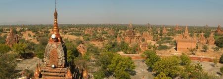 Archäologische Fundstätte von Bagan, Birma Lizenzfreies Stockbild