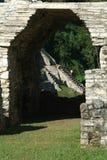 Archäologische Fundstätte von Palenque Lizenzfreie Stockfotografie