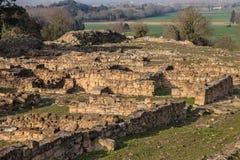 Archäologische Fundstätte von Ullastret Lizenzfreie Stockbilder