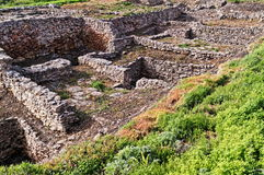 Archäologische Grabung stockbilder