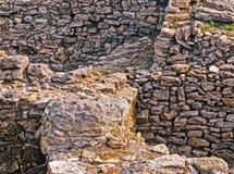 Archäologische Grabung stockfoto
