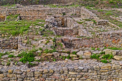 Archäologische Grabung stockfotos