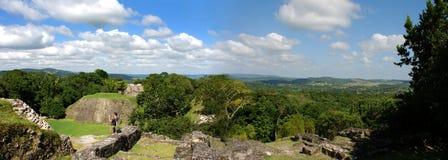 Archäologische Mayafundstätte Lizenzfreies Stockfoto