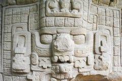Archäologische Mayafundstätte von Quirigua Stockbild