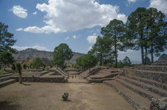 Archäologische Ruinen in Mexiko Lizenzfreie Stockfotos