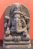Archäologische Skulptur von Lord Ganesh, von der indischen Mythologie stockfotos