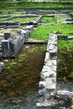 Archäologische Stelle in Kotor stockfotografie