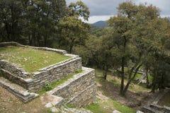 Archäologische Zone von Ranas Stockfotografie