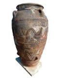 Archäologischer griechischer Amphora Stockbilder