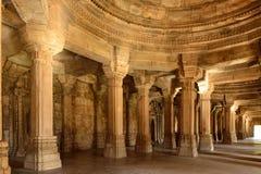 Archäologischer Park Champaner - Pavagadh nahe Vadodara, Indien lizenzfreies stockbild