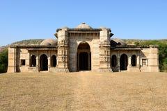 Archäologischer Park Champaner - Pavagadh nahe Vadodara, Indien Lizenzfreie Stockfotos