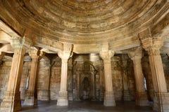Archäologischer Park Champaner - Pavagadh nahe Vadodara, Indien Stockbild