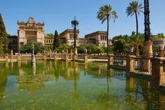 Archäologischer Park des Museums-I Maria Luisa (Sevilla) Lizenzfreies Stockfoto