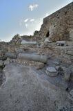 Archäologischer Park von Caesarea Stockbilder