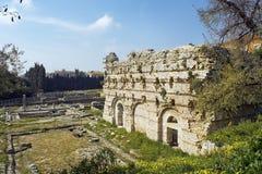 Archäologisches Museum von nettem-Cimiez Stockfotografie
