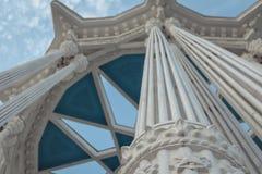 Arché decorativi della colonna Fotografia Stock