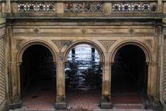 Arché del centro commerciale del Central Park Fotografia Stock Libera da Diritti