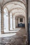Arché di pietra nel monastero della st Vincent Outside le pareti i Fotografia Stock
