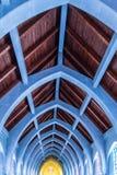 Arché massicci in tetto della cappella Immagini Stock