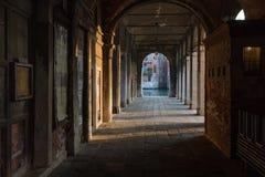 Arché, sera di Venezia Immagine Stock